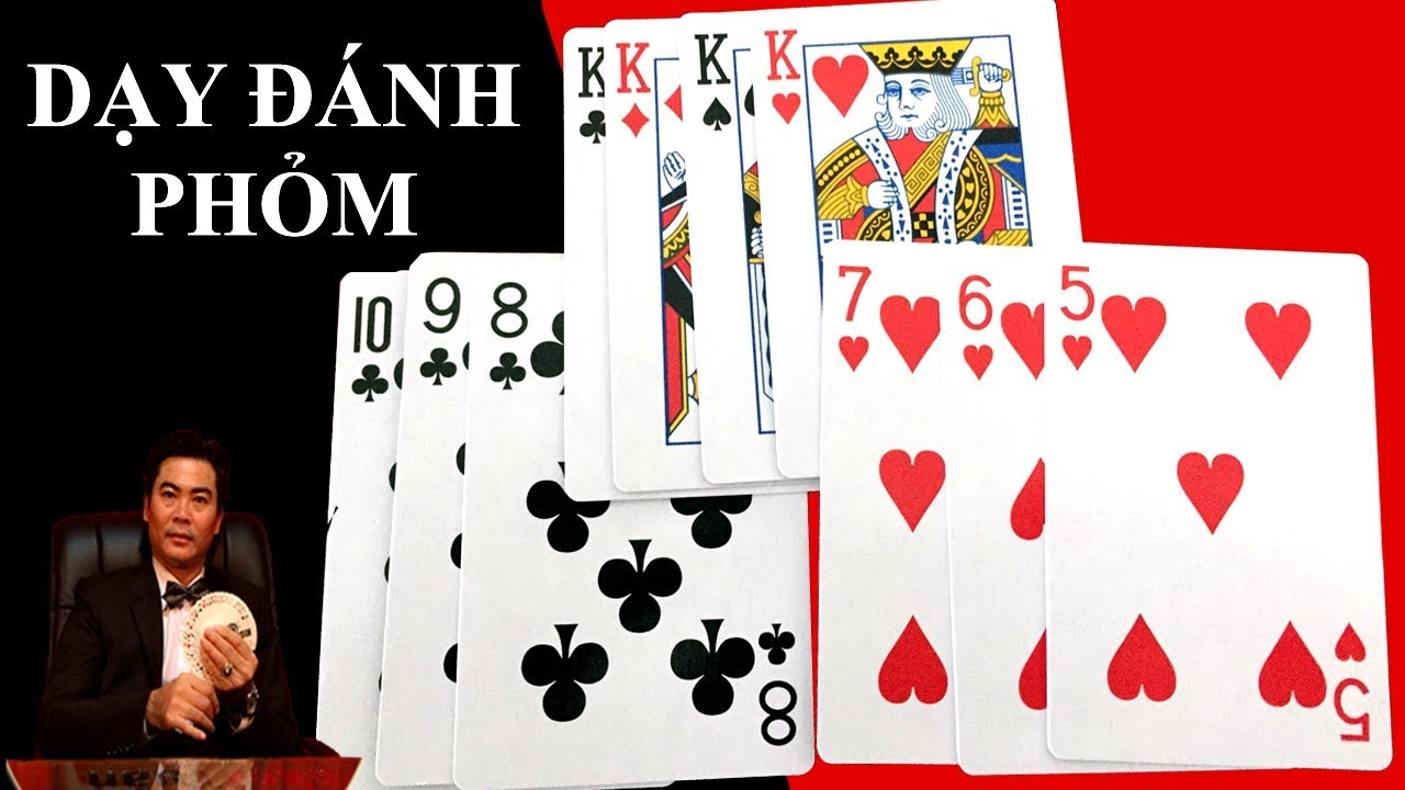 Phỏm là trò chơi phổ biến tại Việt Nam