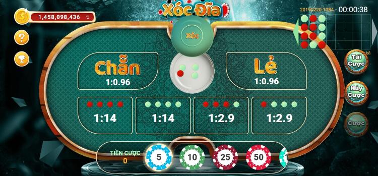 Một số thông tin về game xóc đĩa